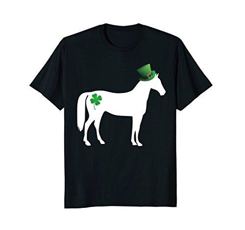 Funny St Patricks Day Horse Shirt Irish Horse Lucky (Irish Horse)