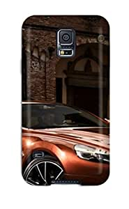 Premium Tpu Sports Car Near Brick Building Cover Skin For Galaxy S5 by lolosakes