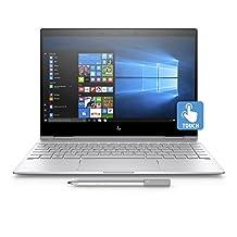 """HP Spectre x360 13.3"""" Touch Laptop, Core i7-8550U, 8GB SDRAM, 256GB SSD, Win10 Home (13-ae020ca)"""