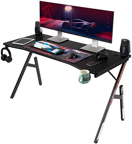 OUTFINE Gaming Desk Home Office Computer Table Gamer Workstation