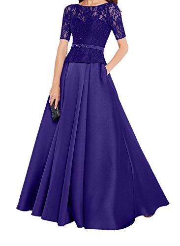 Langarm Brautmutterkleider Damen 2018 Promkleider Abendkleider Formalkleider Spitze Charmant Regency Neu Festlichkleider Lang CAqwfSCtn