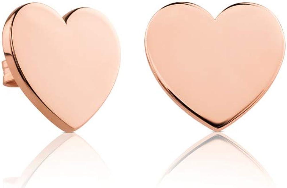 Tous - Pendientes de corazón de Plata 51-277-355-0