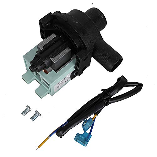 Price comparison product image WD-5470-09 Ultra Durable Washer Water Drain Pump Replacement Part for Haier Washing Machine Water Pump - Replaces AP3437784 1227046 PS4128791