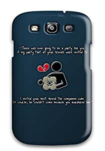 Logan E. Speck's Shop Best Awesome Case Cover/galaxy S3 Defender Case Cover(companion Cube Video Game) 4688153K72825218