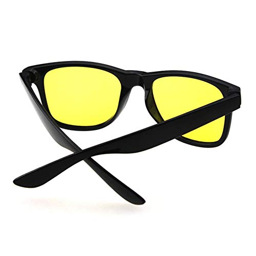 FIYI Night Driving Glasses for Men & Women,HD Polarized Night Vision Glasses Anti Glare Rainy Sunglasses for Driving