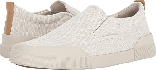 Vince Mens Vernon Canvas Slip Ons Horchata