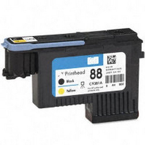 remanufactured HP88 printhead C9381A(Black/Yellow) 1PK @INKTONER