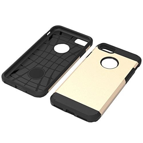 Tuff-Luv Étui TPU Armour shell pour Apple Iphone 7 - Or