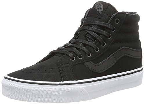 Leather Reissue Hi Unisex Zapatillas Premium Sk8 Altas Negro Vans Adulto qOfFn