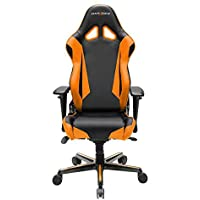 DXRacer OH/RV001/NO Black & Orange Racing Series Gaming Chair
