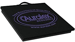 Auralex Acoustics BabyGramma v2  Isolation Platform for Amplifers, 1.75 x 15 x 15-Inches