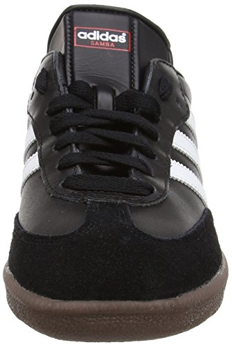 Adidas Samba Heren Real Leather Sneaker Zwart 019.000 Schwarz