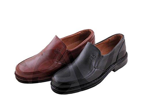 Zapato Comodos 602 Brandy Piel Caballero Sport EEqw0STg