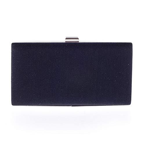 pochette Vola europea rigida da nera borsa borsa sera moda americana tracolla da sera con rfSYgnwCfq