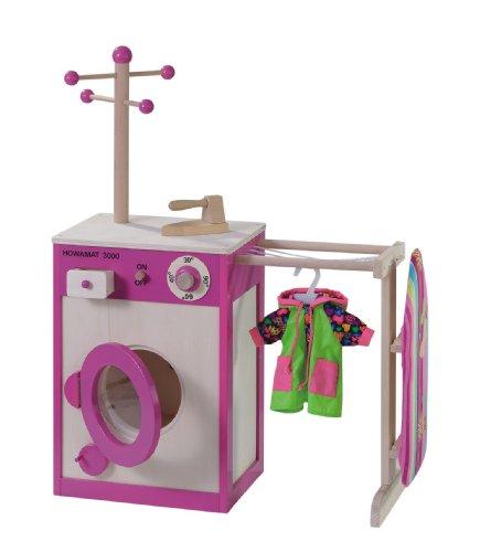 machine a laver en bois jouet po le cuisine inox. Black Bedroom Furniture Sets. Home Design Ideas