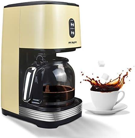 ABC Lifestyle Machine à Café, Cafetière Filtre
