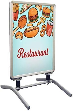 Design 2 Springster L Outdoor Sidewalk Restaurant Print Banner Signs