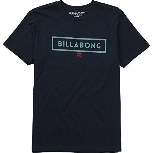 Billabong Men's Branded Short Sleeve T-Shirt, Navy, Medium