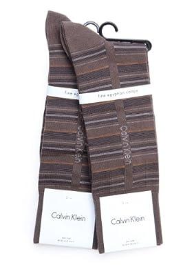 Calvin Klein Socks 2 PACK, Color: Brown