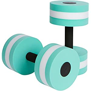 Trademark Innovations Aquatic Exercise Dumbells – Set of 2 – for Water Aerobics