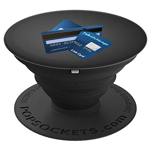 Link Card Popsocket - PopSockets Grip and Stand for Phones and Tablets by Barzrus Apparel