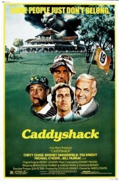 Caddyshack Chevy Chase Bill Murray Movie Mini Poster ()