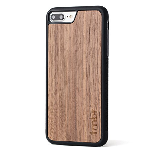 Carved Walnut Shell - Tmbr Wood iPhone 7 Case, Walnut Wood iPhone 7/7 Plus Slim Wooden Case (Walnut Wood iPhone 7 PLUS (5.5