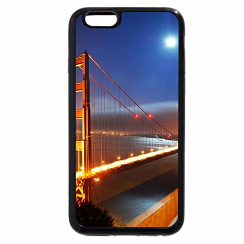iPhone 6S / iPhone 6 Case (Black) San Francisco Bridge At Night