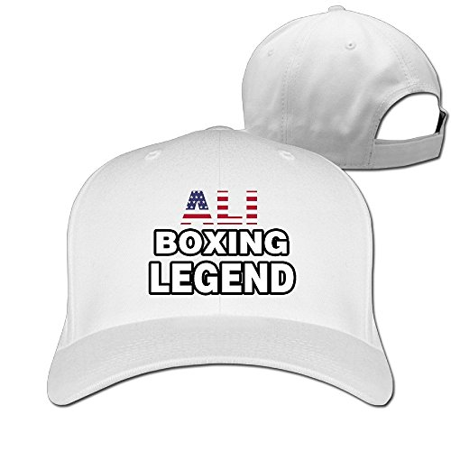 The Greatest Boxing Legend Ali Adjustable Fitted Baseball Sports Caps Hats