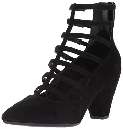Aerosoles Women's Rock Star Dress Pump, Black Suede, 10 M US