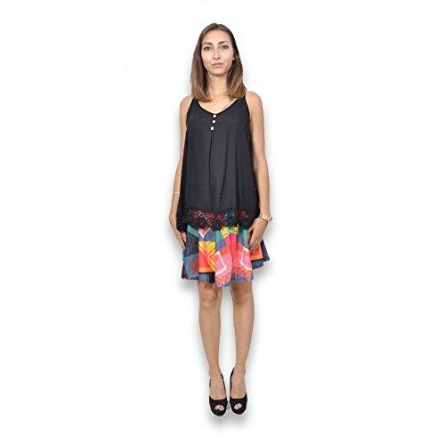 BELLE&COEUR - Camiseta sin mangas - para mujer negro
