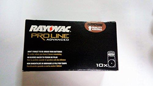 Rayovac 312 Extra Advanced 120 x PR41 Hearing Aid Batteries for 312AE,...