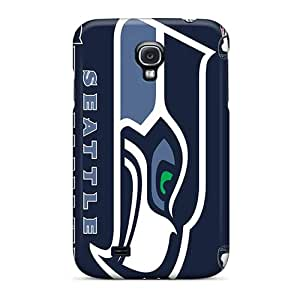 New Style Tpu S4 Protective Case Cover/ Galaxy Case - Seattle Seahawks