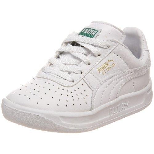PUMA GV Special Kids Sneaker , White/White, 8 M US (Kids Puma Shoes)