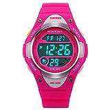 Kids Watch Sport Digital LED Multifunction Watches for Child 50M Waterproof Alarm Quartz