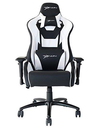 41am7NdOL8L - Ewin-Chair-Flash-Series-Ergonomic-High-Back-Computer-Gaming-Office-Chair-with-Pillows-FLNC-BalckWhite