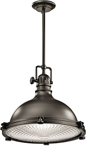 Kichler 2682OZ Pendant 1-Light, Olde Bronze