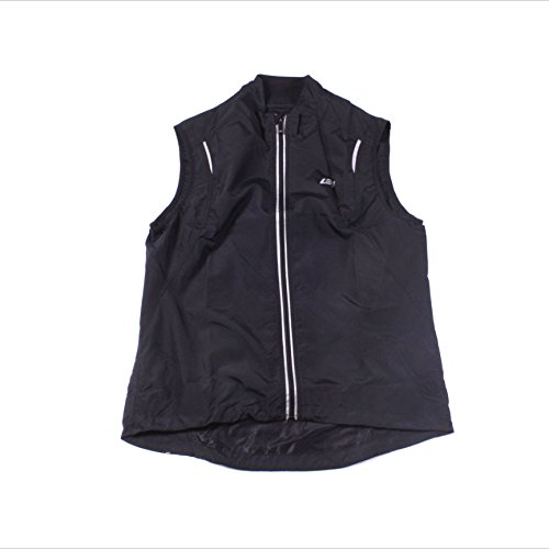 Bellwether Women's City Cycling Vest Black Large Athletic Windproof Vest