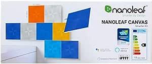 NANOLEAF Canvas Smarter Kit - 9 PackLight Panels | Canvas Edition Smarter Kit (9 Panels)