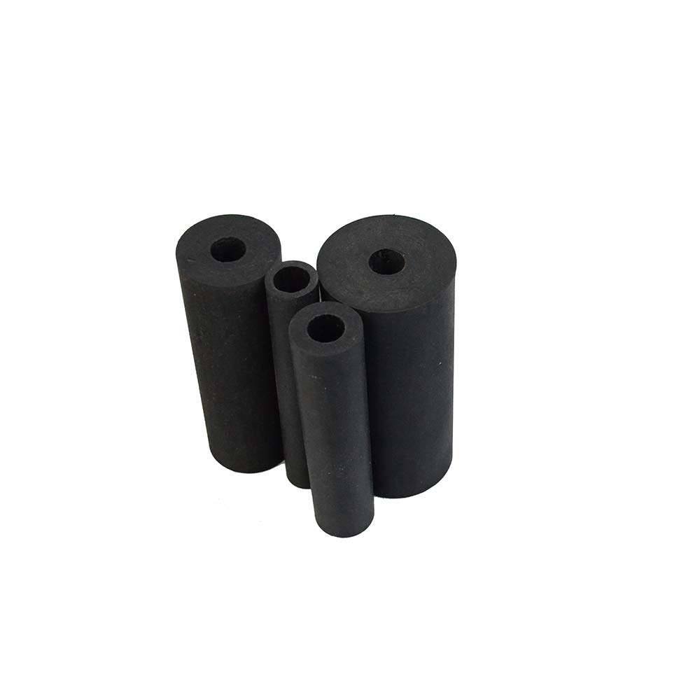 Rubber Sanding Drum Set for Drill or Drill Press 4pcs QINHAN