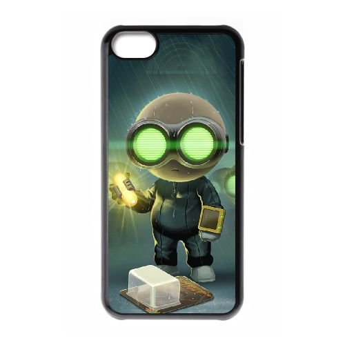 Stealth Inc. 2 A Game Of Clones 3 coque iPhone 5c cellulaire cas coque de téléphone cas téléphone cellulaire noir couvercle EEECBCAAN01273