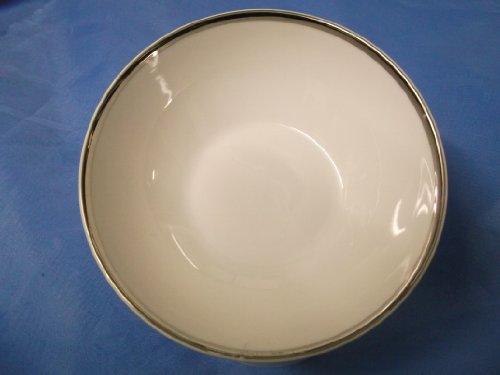 (THOMAS CHINA 4MM WIDE PLATINUM 798 - 14cm FRUIT / DESSERT BOWL - NEW -)