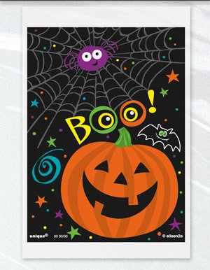 Charmed 4 x 6 Halloween plastic party favor treat cello bags 150 ct