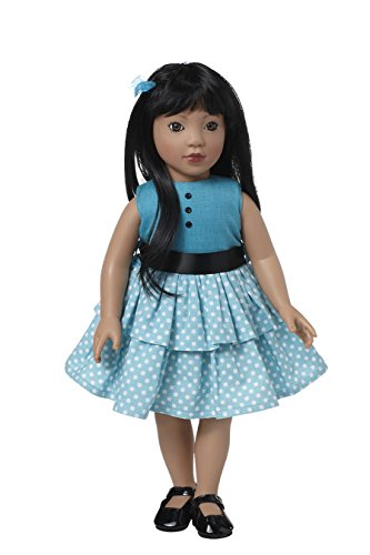 Starpath Asian Girl Doll - 18' Vinyl, Included Custom Fairy Tail e-Book Starring You and Your Star Path Doll, Fits American Girl Clothing