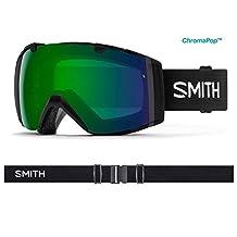 Smith Optics Goggles Adult I/O Interchangeable Black CP Green II7