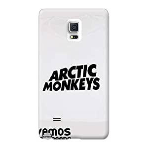 LavernaCooney Samsung Galaxy Note 4 Perfect Cell-phone Hard Cover Provide Private Custom Trendy Arctic Monkeys Band Image [wdL13578PTtS]