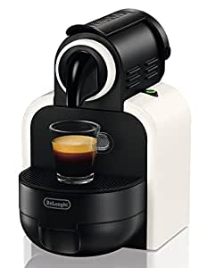 Reducida - Máquina de café Nespresso Essenza De Longhi EN97.W - Incluye 150 cápsulas de Caffé para Espresso