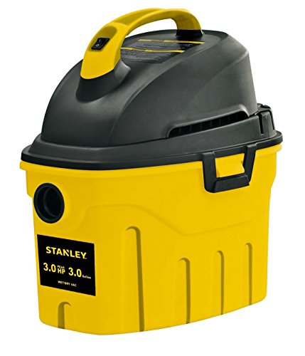 Stanley Wet/Dry Vacuum, 3 Gallon, 3 Horsepower (Renewed)