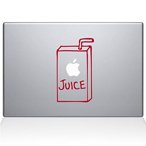 apple juice macbook air decal - 3