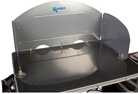 Universal Wind Protección para todos camping Cocina Incluye ventosa cocina pies • camping tienda Caravana Protección antisalpicaduras camping ...